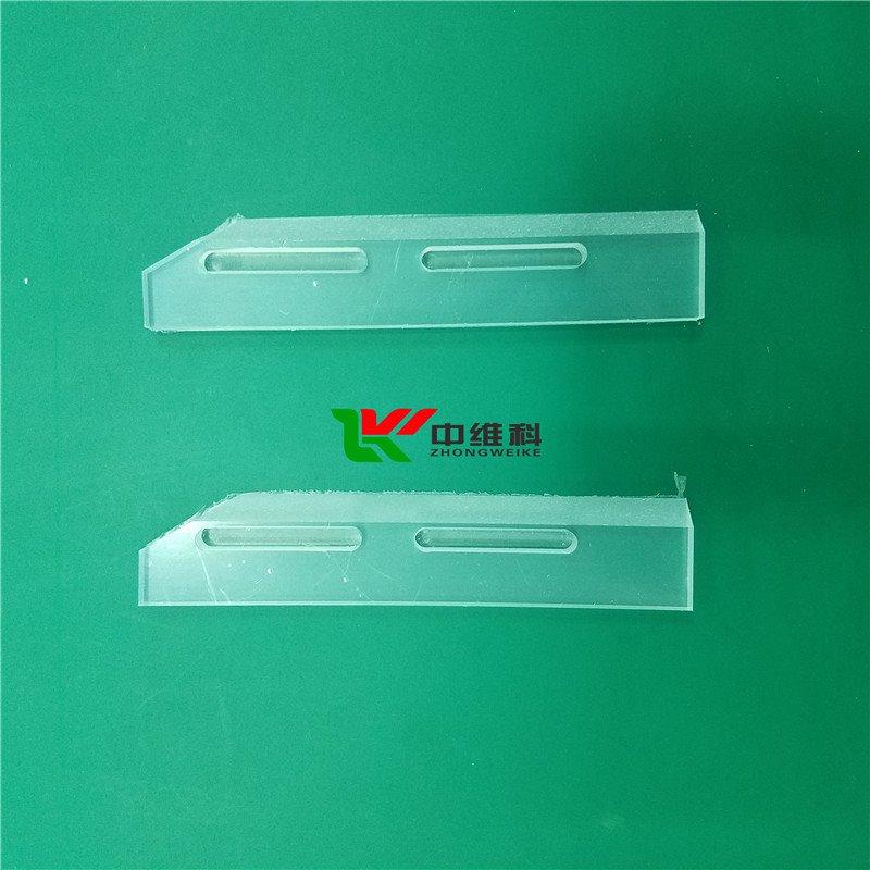 PC板边缘开0.5mm深槽  PC板边缘倒斜角 PC板精密雕刻 开孔