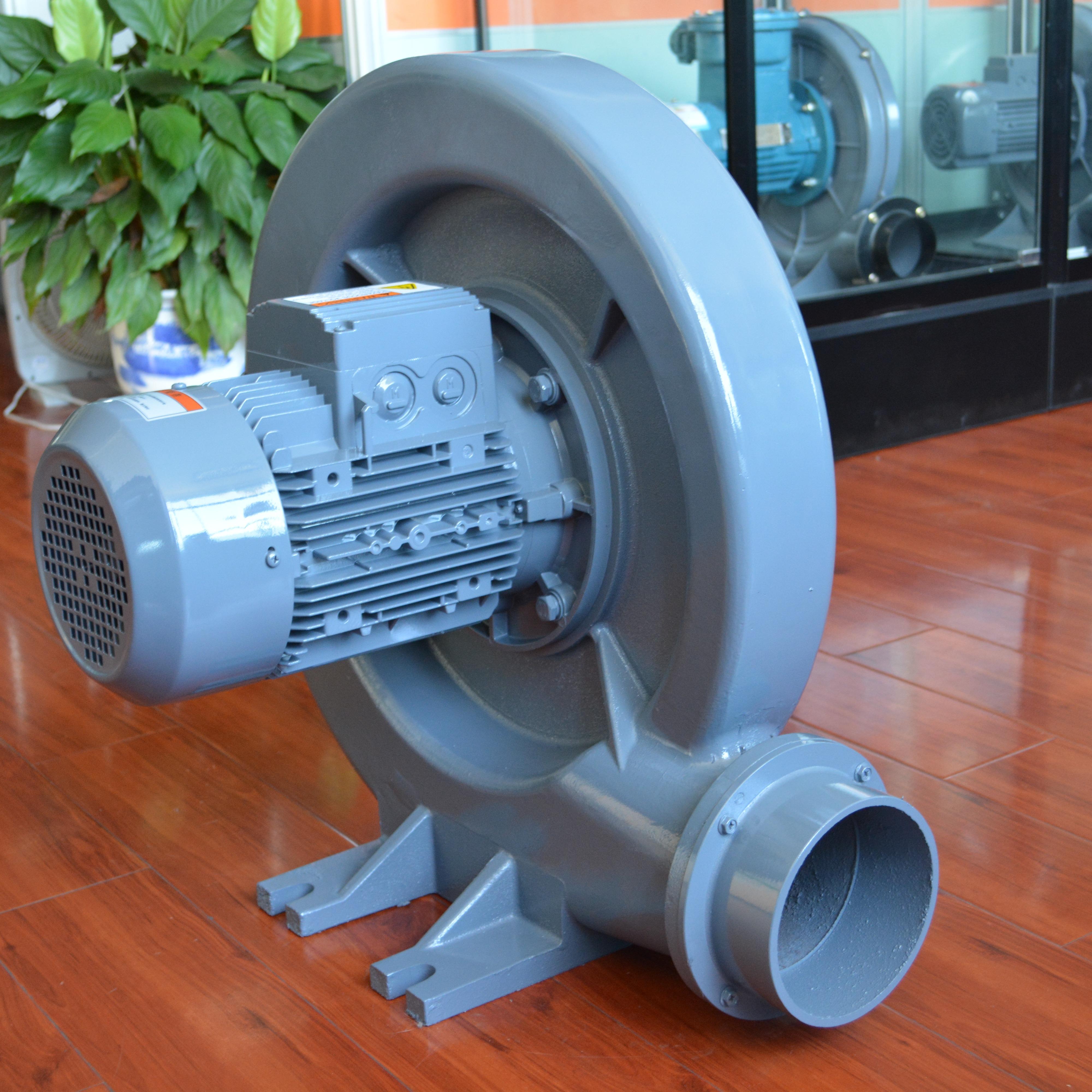 全风FX-2 0.75KW透浦式鼓风机易燃气体输送风机 BT4CT4铝壳防爆鼓风机