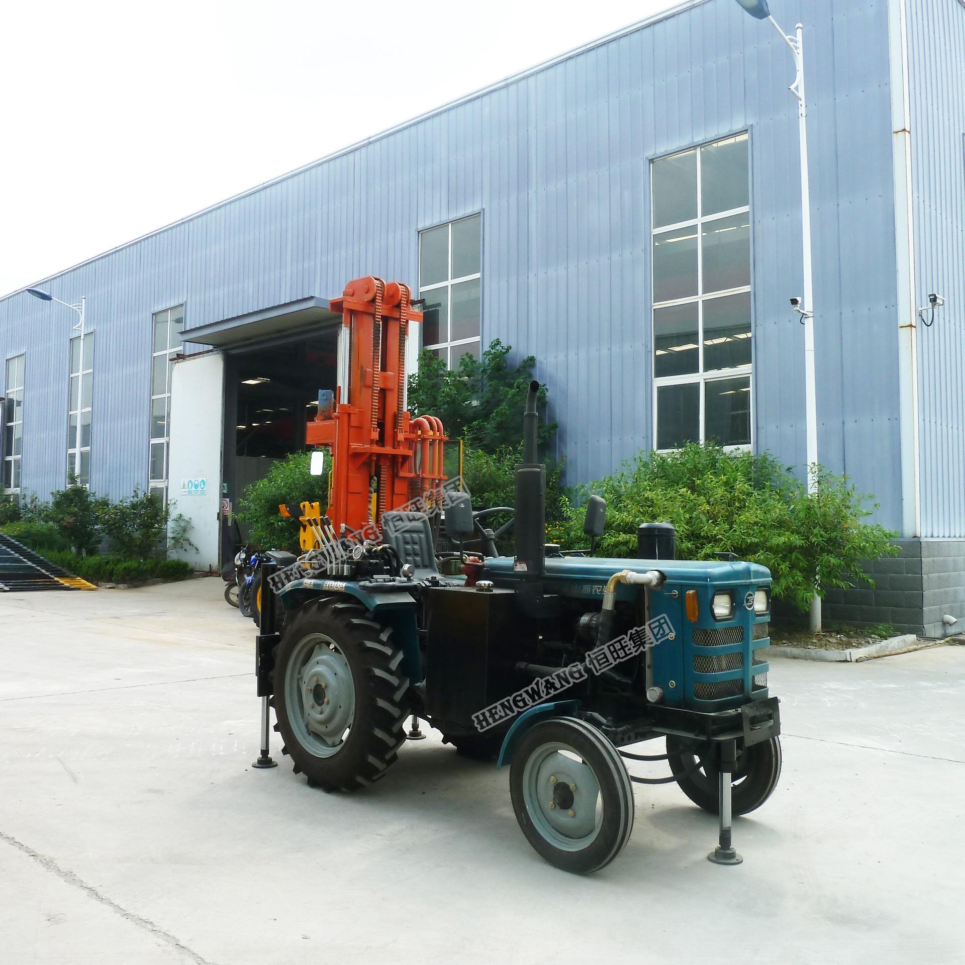 拖拉机气钻 拖拉机头钻机 水井钻机 钻井机 打井机