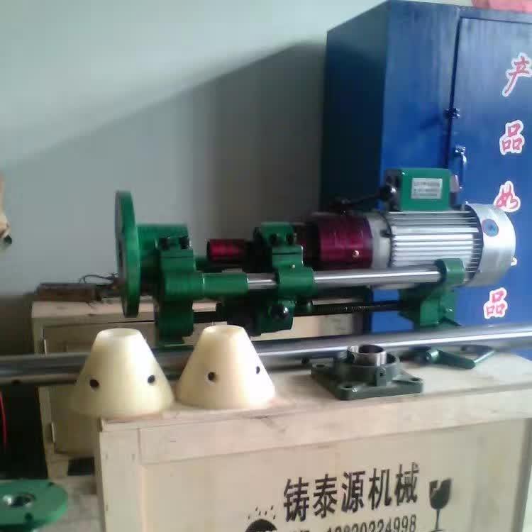 机械传动手动自动双功能镗孔机