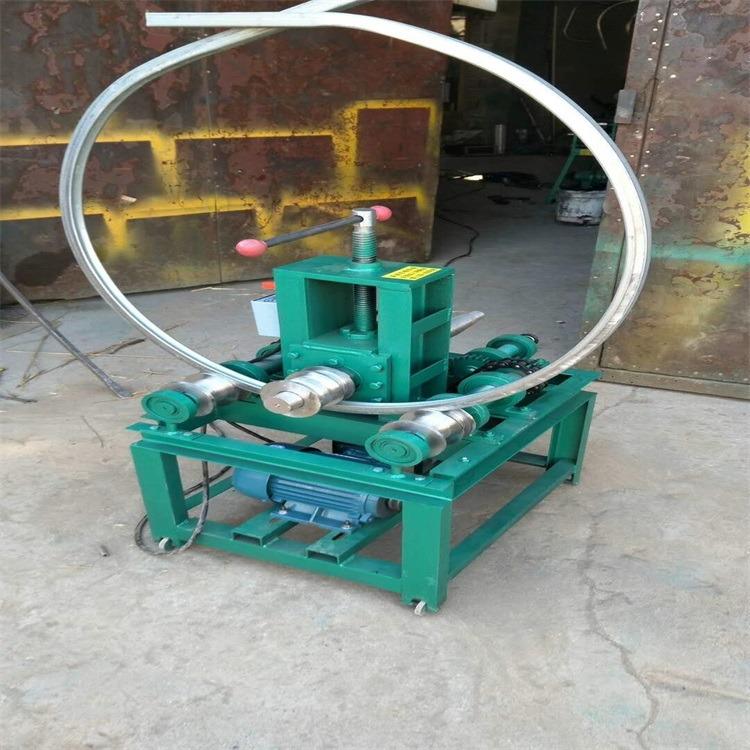 低价销售 森创牌小型立式电动弯管机 方管 圆管折弯 弯弧机