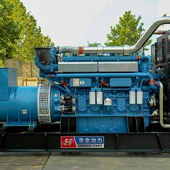 自动化柴油发电机组1000千瓦 自动保护 玉柴发电机组自动启动