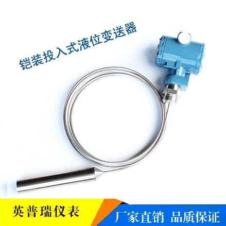 不锈钢毛细管投入式液位变送器 耐高温防腐铠装液位变送器厂家