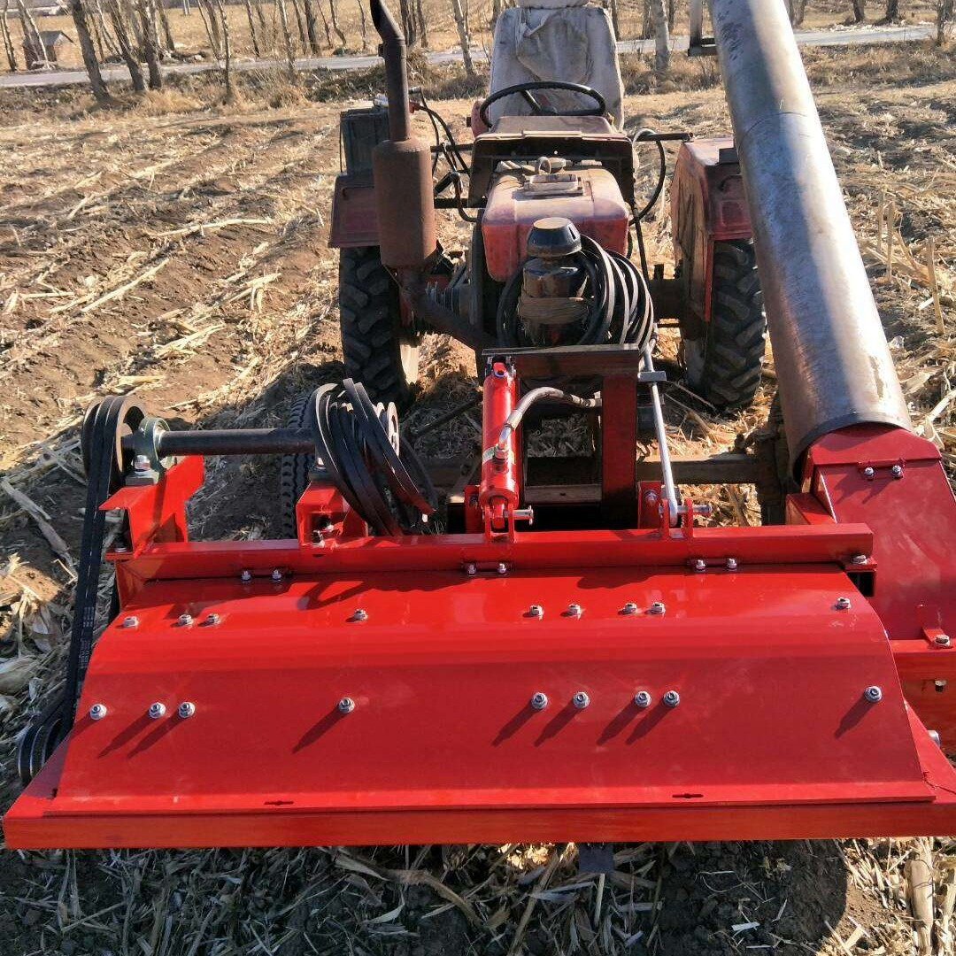 牧草稻草小麦秸秆小型收割机玉米秸秆前置粉碎回收机 青储机