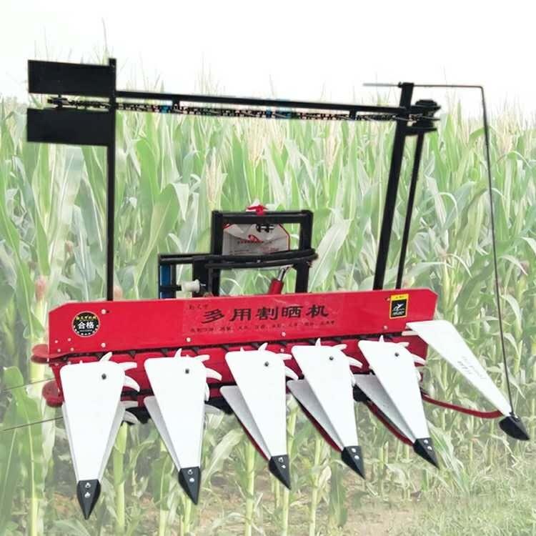 农用收割机 小型耕地机打田机 手扶带收获机