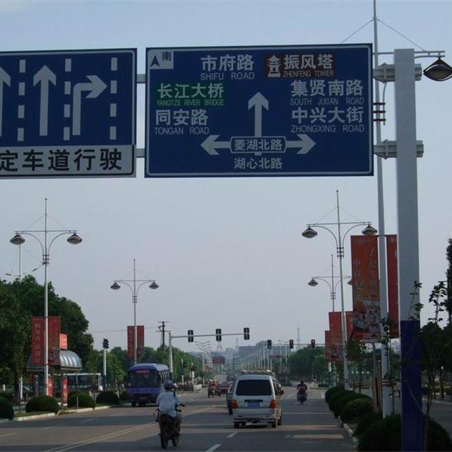 洛阳监控杆,小区监控立杆生产,道路监控杆免费设计批发