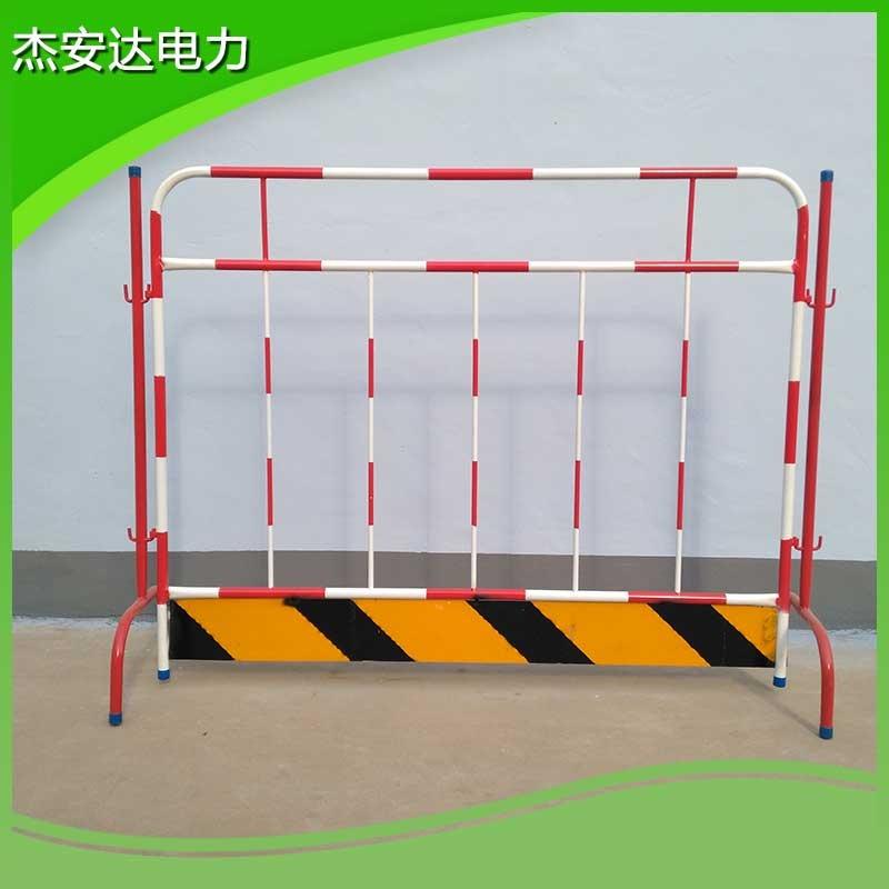 玻璃钢移动伸缩式安全围栏 组合式安全围栏价格 JAD-WLG-1.2*3.0m不锈钢伸缩围栏片式生产厂家