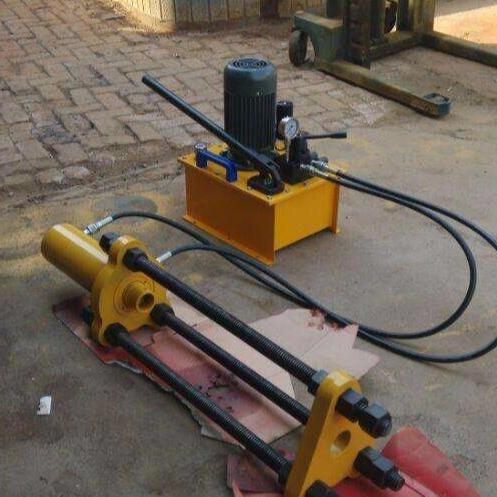 挖掘机维修工具 液压压链机 卡特 履带拆销器拆装机 50吨 100吨 120吨160吨电动压链器,压套机厂家直销小松压链