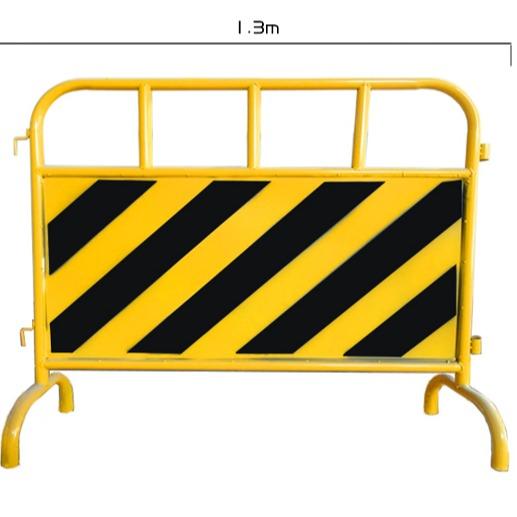 市政施工铁马隔离栏公路道路施工安全移动交通防护镀锌管护栏铁马博昌厂家定制