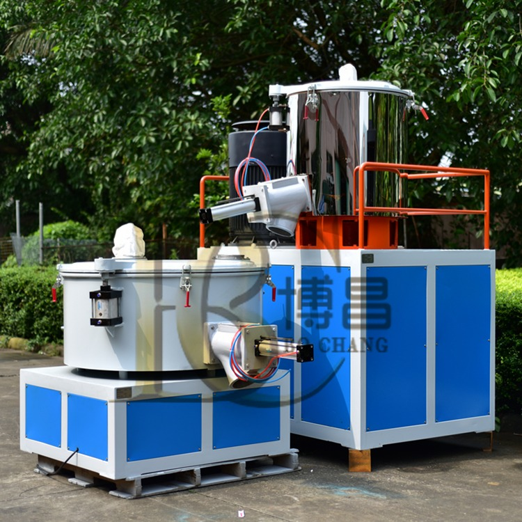 博昌厂家低价出售 高速混合机组  PVC高低混合机组  高速混合机  PVC粉混合机