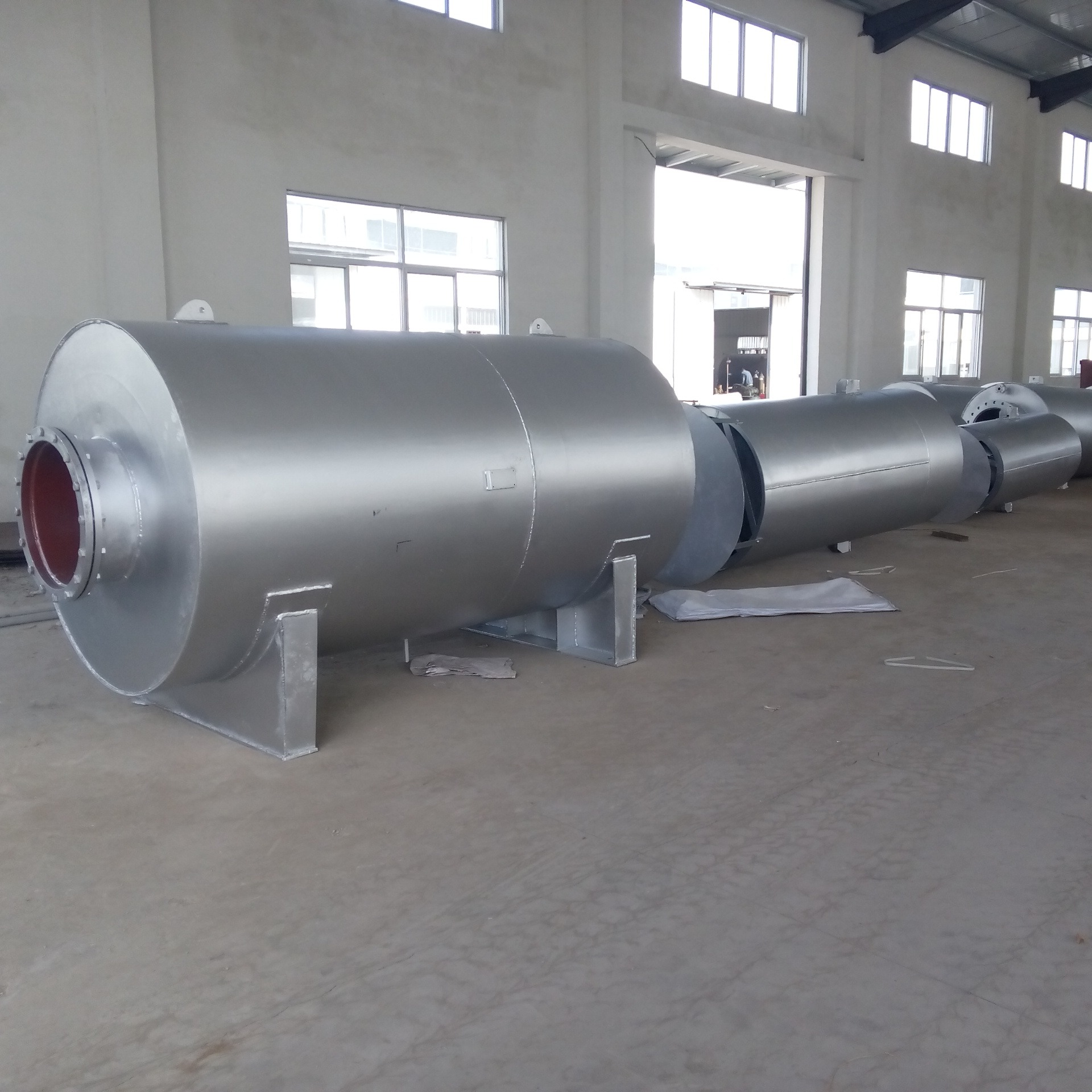 久盛生产锅筒安全阀消声器 锅筒安全阀消音器厂家  锅筒安全阀消声器制造