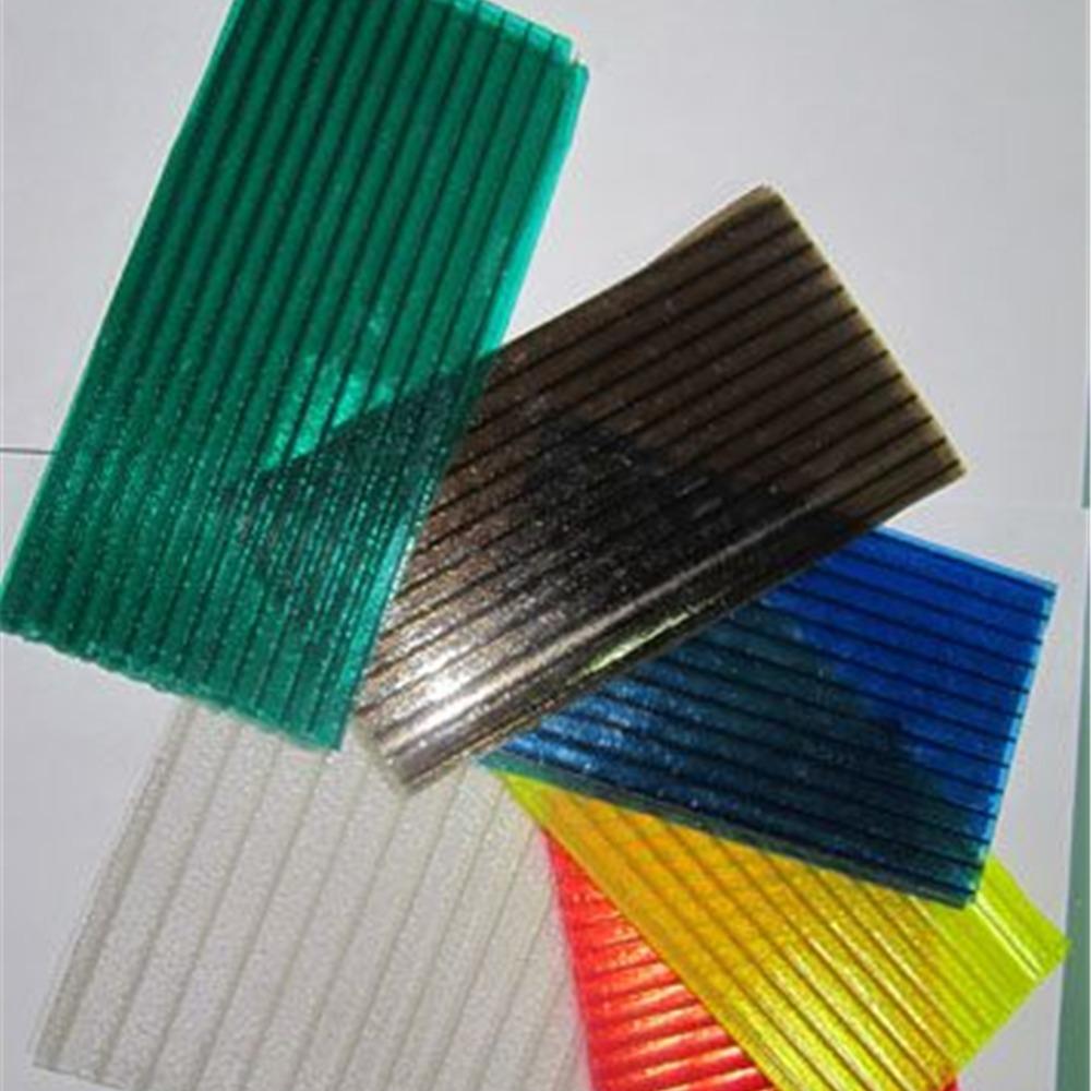 晶亮阳光板 晶透阳光板 半透明pc阳光板厂家