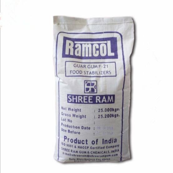 雪龙瓜尔豆胶生产厂家报价 高粘度F21瓜尔豆胶厂家