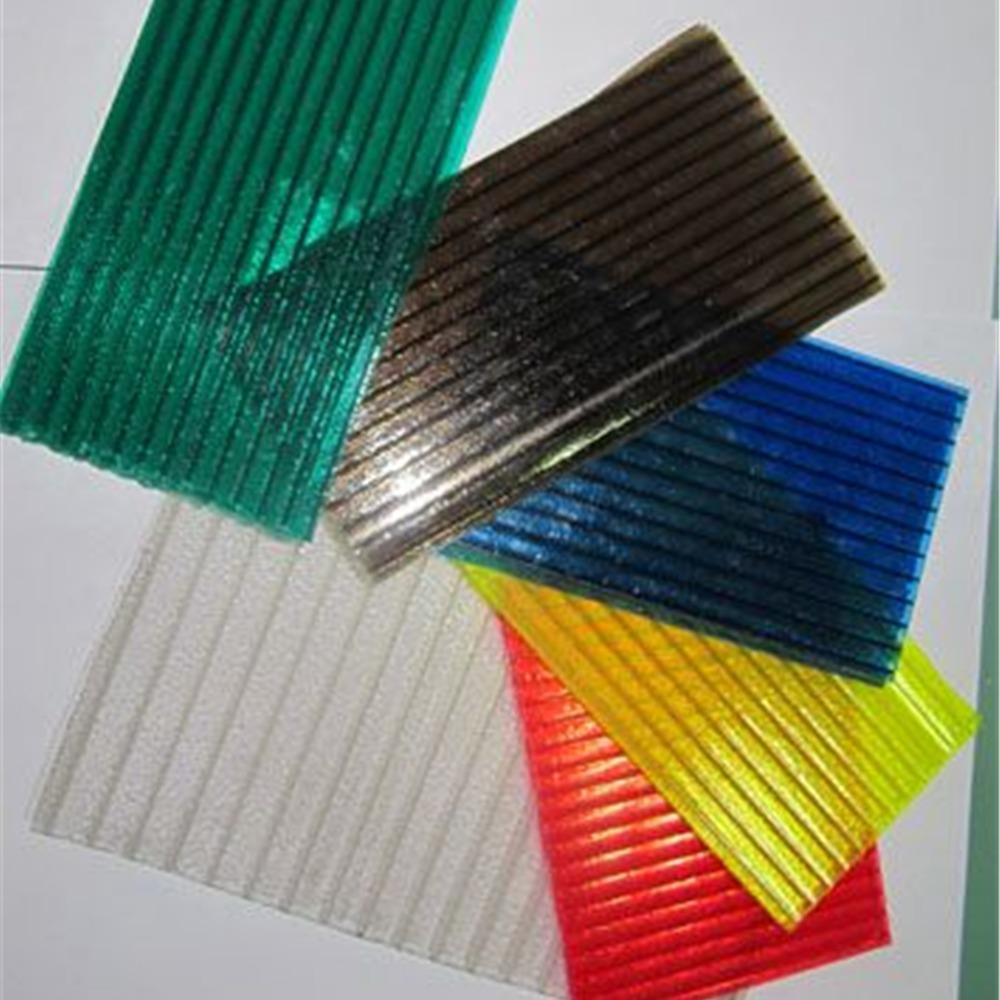 8mm晶亮晶透pc阳光板厂家