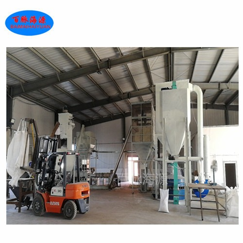 畅销纸面石膏板粘合剂设备 干法改性淀粉膨化机 百脉海源