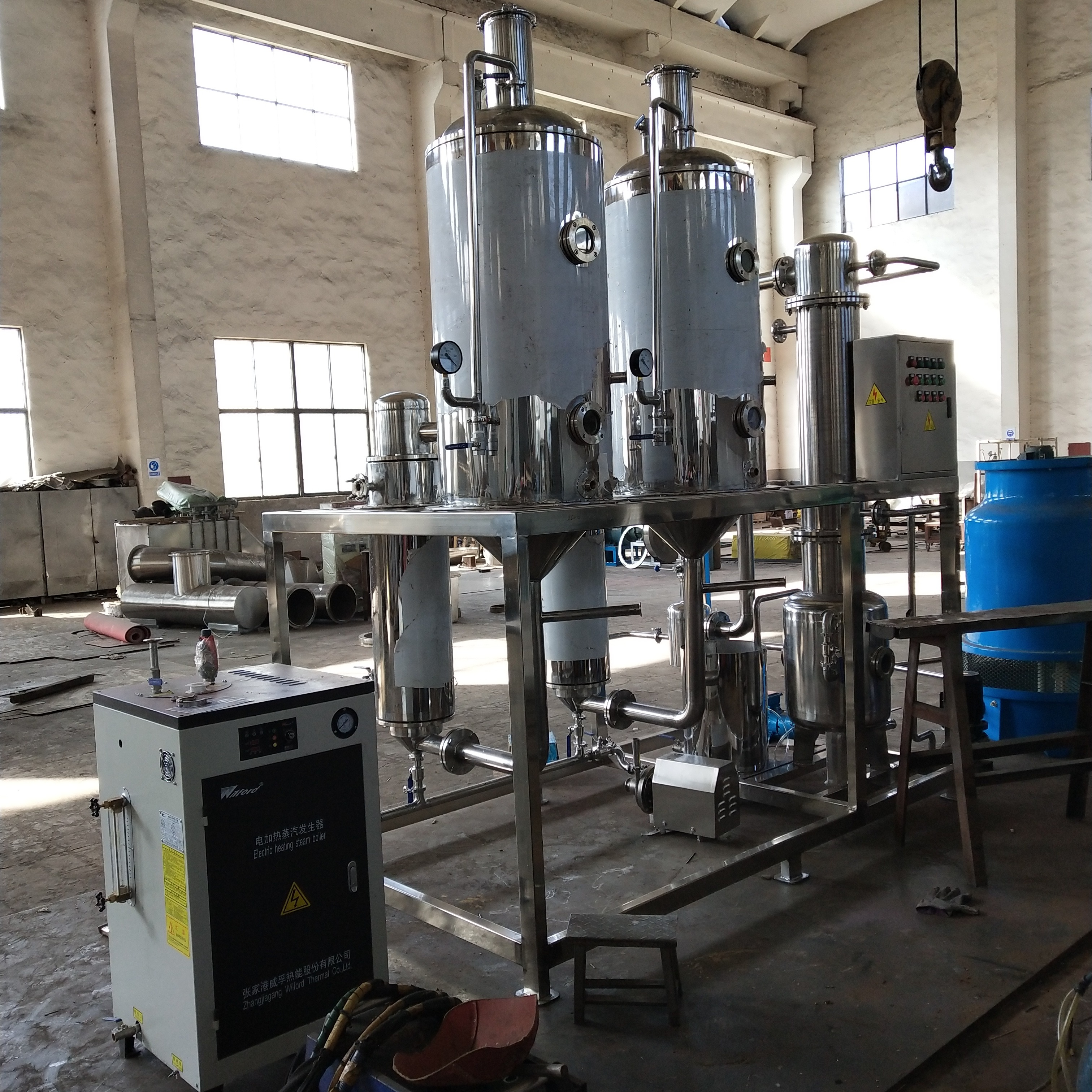 苏州电镀厂蒸发器