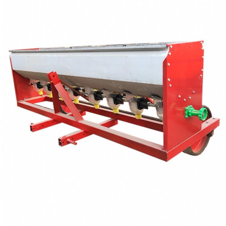 厂家销售拖拉机不锈钢草籽播种机 撒播机 拖拉机后置撒肥机