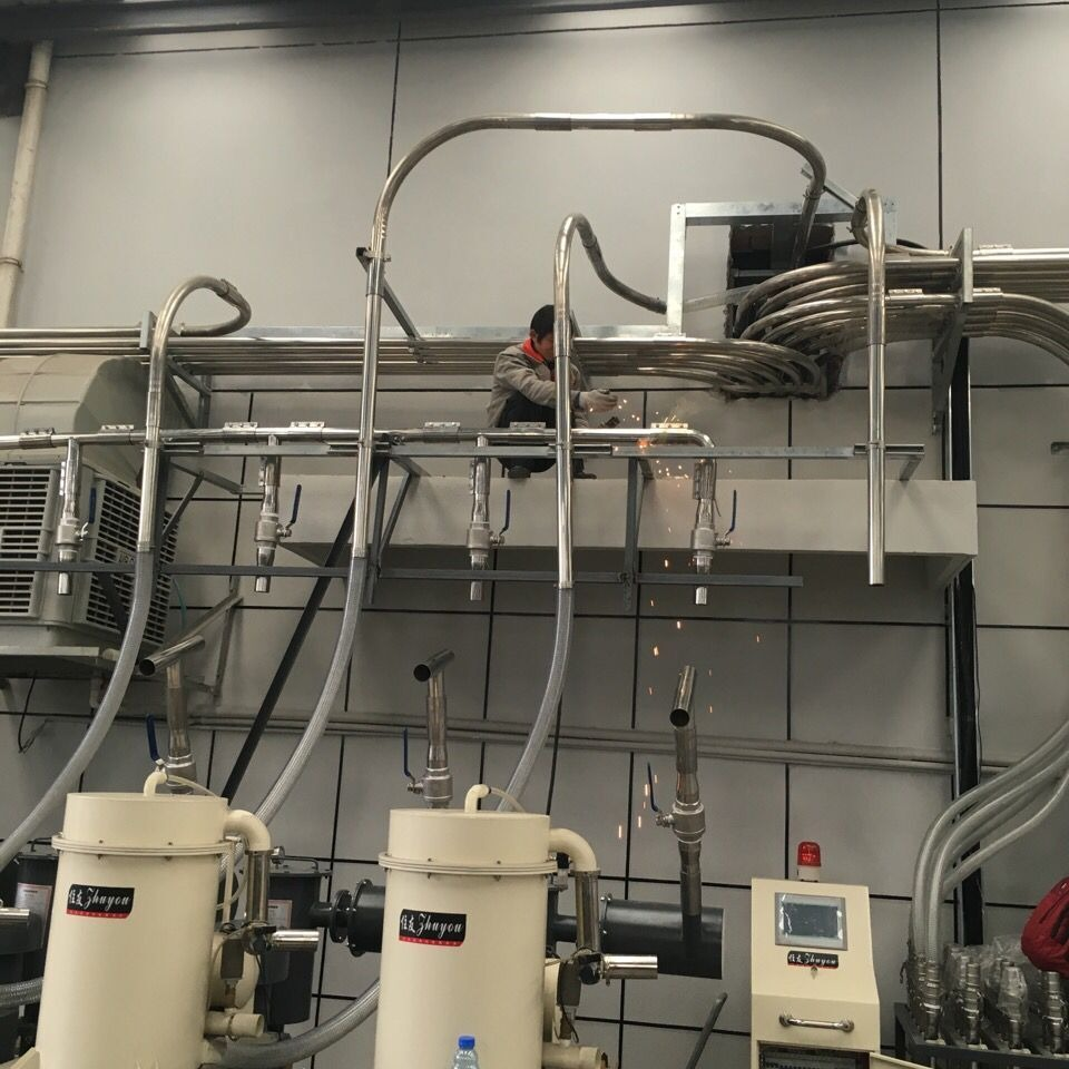 集中供料系统注塑机集中供料系统