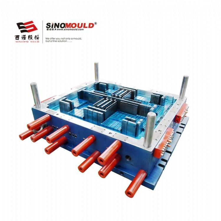 西诺直销塑料托盘模具 川字托盘 塑胶托盘模具 精密加工工业托盘
