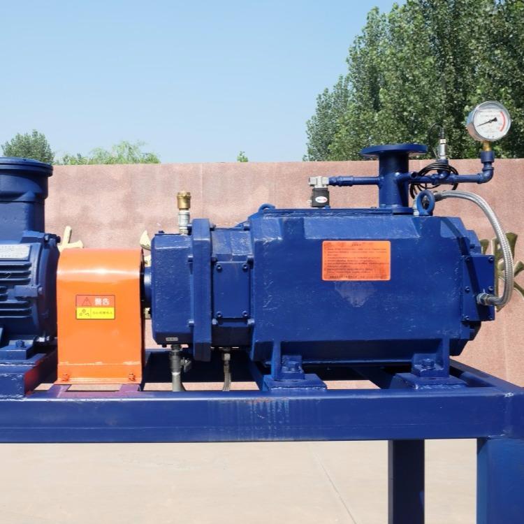 LG系列螺杆干式真空泵,LG110螺杆干式真空泵