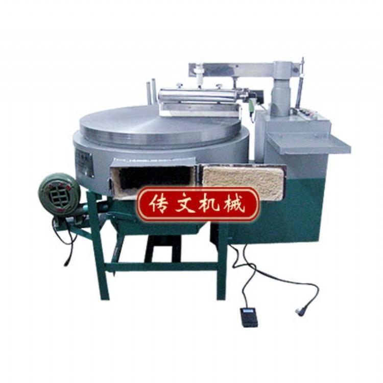 传文机械全自动煤块煎饼机 全自动煎饼机厂家