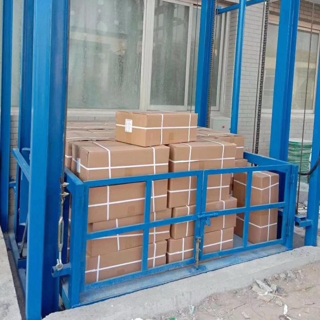 厂房升降货梯导轨式升降货梯工厂载货升降货梯上下货载货平台