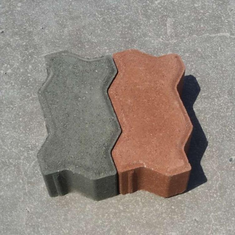 波浪砖、河南波浪砖、舒布洛克砖业