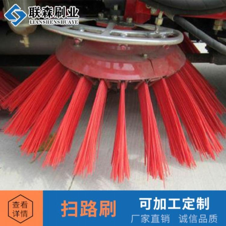 安徽合肥 电动扫地车配件边刷民诺扫地车刷子前扫圆盘刷MN-E800W专用扫路刷