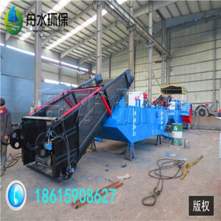 安徽水葫芦收割船 宿州生态环保机械 水浮莲割草船热销