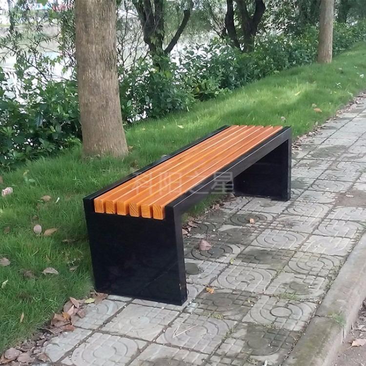 公园椅子户外长椅园林休闲椅景观座椅室外休闲座椅铸铝公园椅