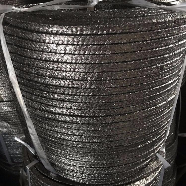 柔性石墨盘根生产厂家 8*8石墨盘根一公斤价格一公斤米数