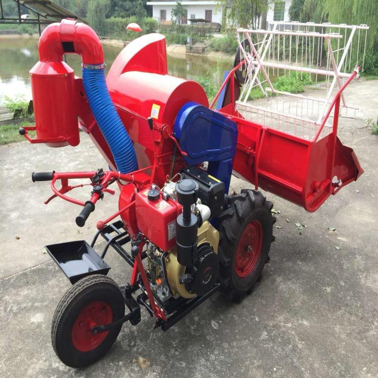 森创供应 履带式水稻收割机 轮式小型联合收割机 农用机械厂家