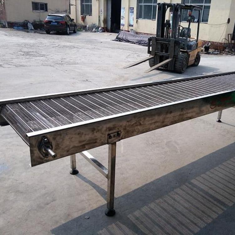 不锈钢网链输送机 食品机械设备 不锈钢输送机设备输送线
