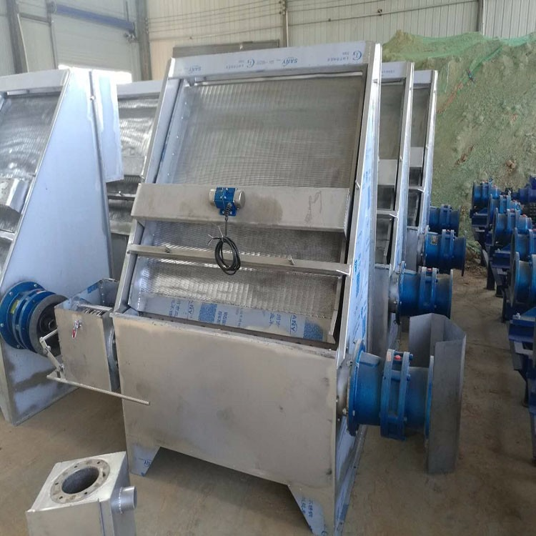 斜筛式分离机,干湿分离机怎么安装,怎么使用干湿分离机