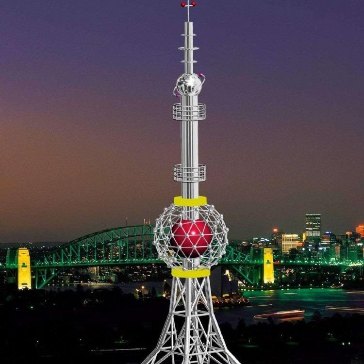 富航工艺塔、装饰塔、不锈钢工艺塔