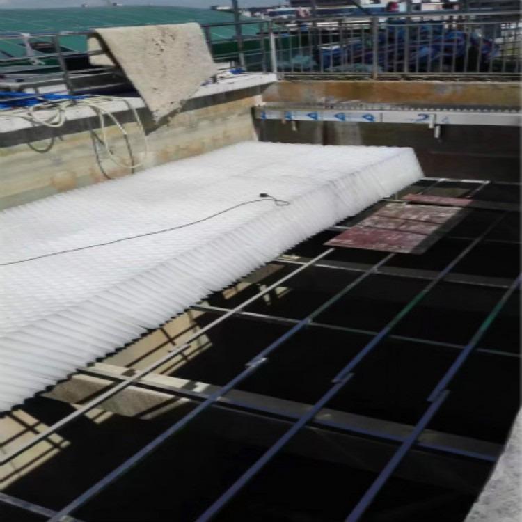 玉门蜂窝斜管 沉淀池六角形蜂窝斜管填料 厂家供应送货