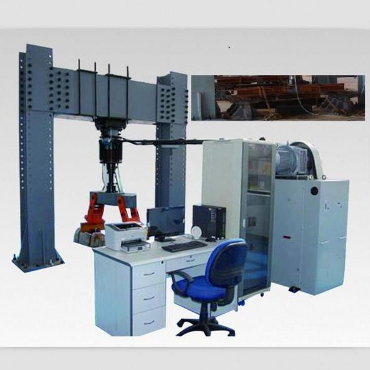 济南凯德仪器PMW-800-500电液式钢轨疲劳试验机