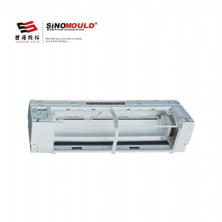 西诺空调外罩模具 家电模具 塑料空调盖模具 空调防尘罩 出风口模具