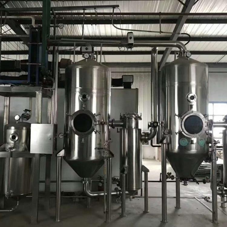 低价出售二手蒸发器 9.5成新多效降膜蒸发器 降膜蒸发器 浓缩蒸发器 不锈钢蒸发器