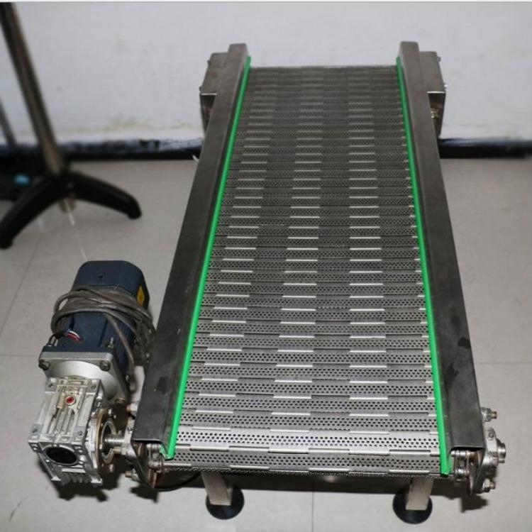 厂家直销不锈钢链板转弯机 输送机流水线 90度180度食品饮料输送转弯机