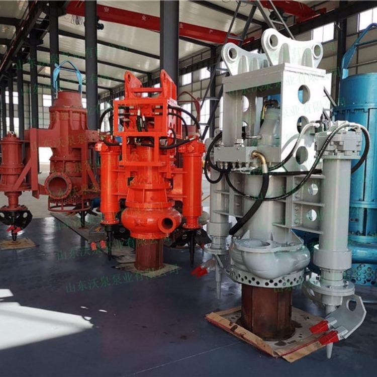 液压驱动挖机泥浆泵 液压砂浆泵 挖机渣浆泵型号匹配