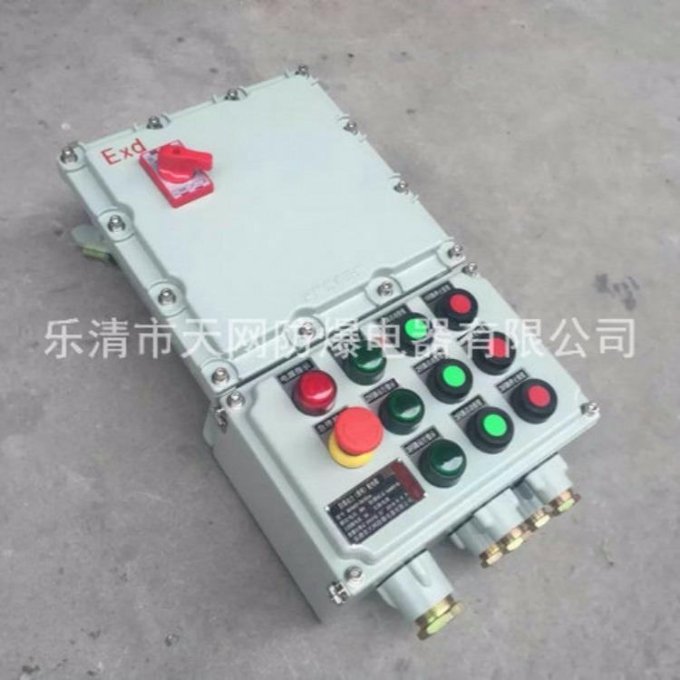 防爆配电箱 控制箱 钢板箱防爆箱 防爆风机控制箱