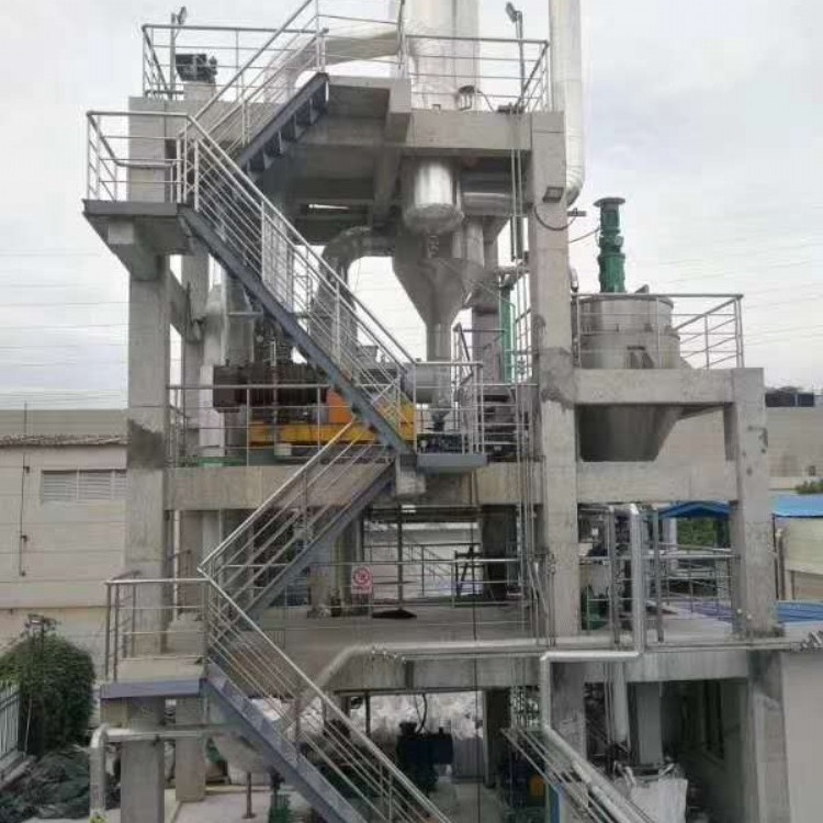 低价出售二手mvr蒸发器 三效浆膜蒸发器 三效四体降膜蒸发器