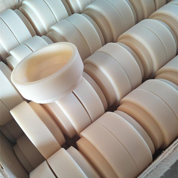 进口原料制作高硬度PA6白色尼龙棒,PA66黑色耐腐蚀尼龙棒