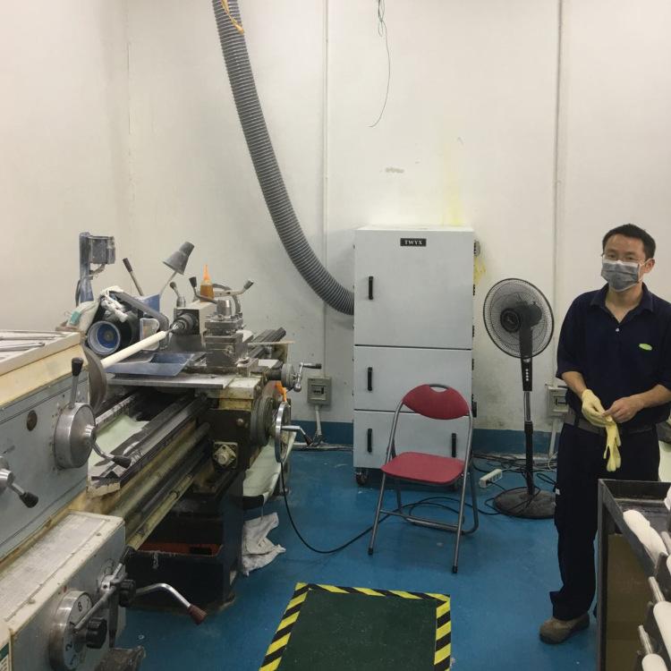 抛光打磨粉尘收集 集尘机 表面抛光除锈打磨脉冲反吹工业集尘机示例图10