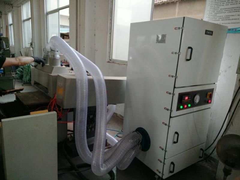 抛光打磨粉尘收集 集尘机 表面抛光除锈打磨脉冲反吹工业集尘机示例图5