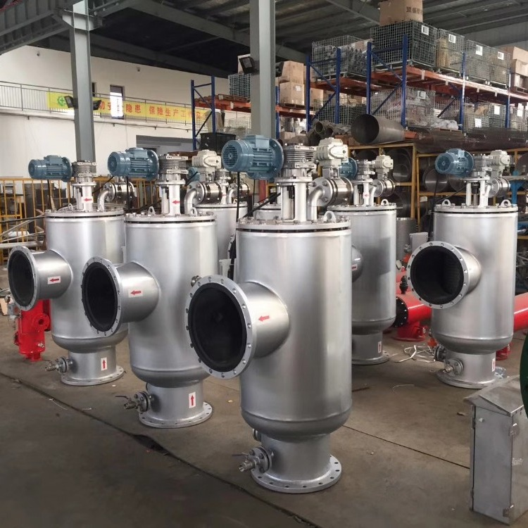 运国生产,水电站滤水器,大型水泵冷却管路过滤器,