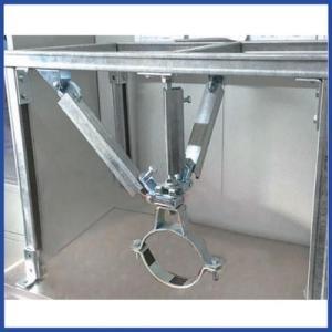 托臂支架抗震配件碳钢Q235镀锌综合地下管廊抗震托臂支架桥架托臂