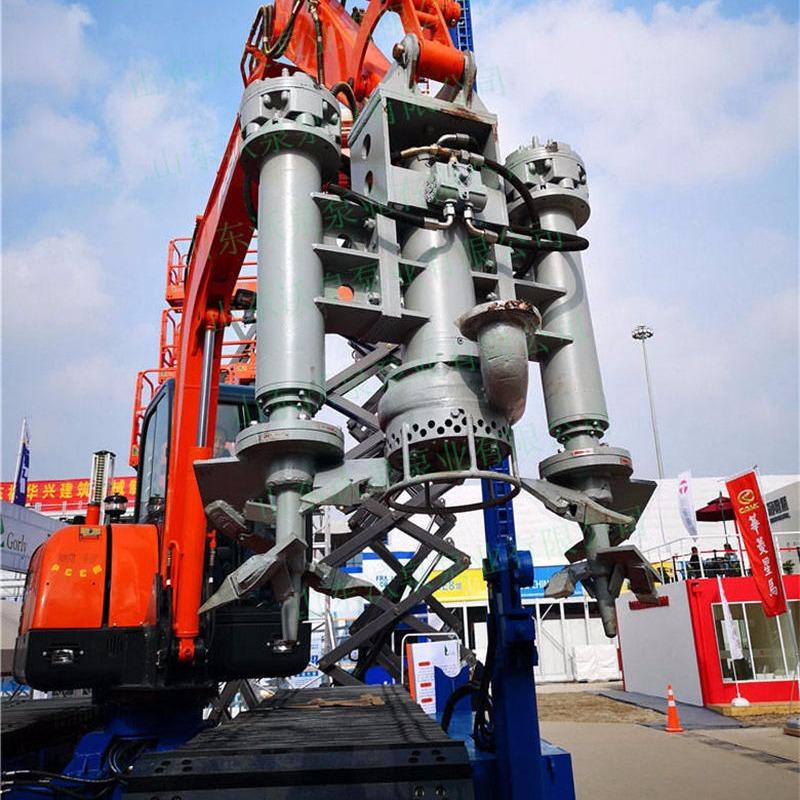 湖泊抽泥泵 挖机泥浆泵 液压砂浆泵 渣浆泵