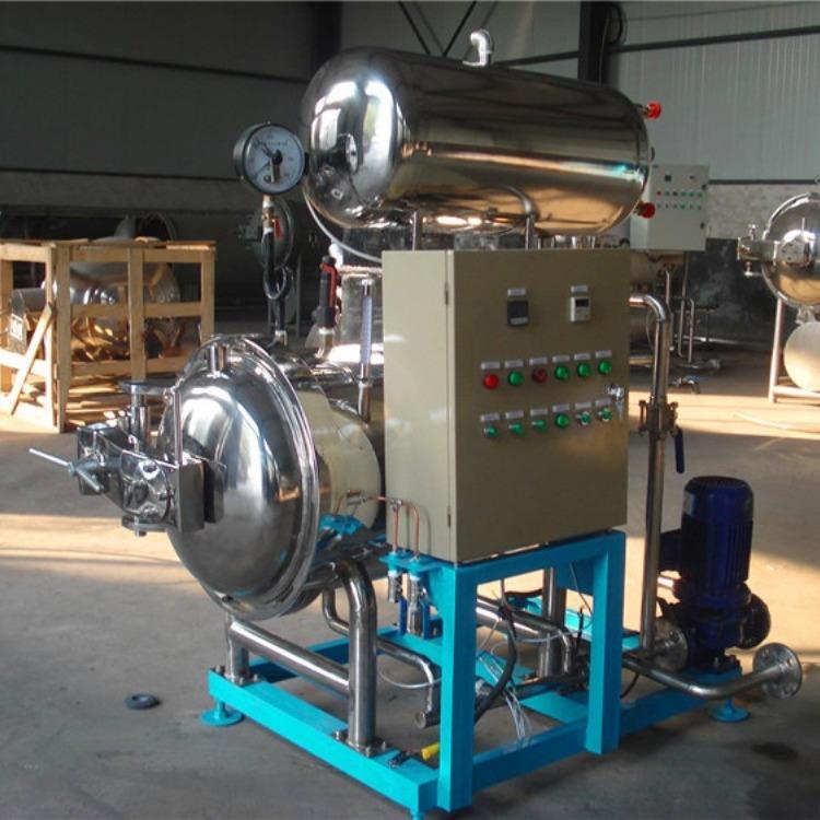 厂家处理优质高温灭菌锅 高效杀菌设备 食品杀菌专用 处理二手杀菌锅